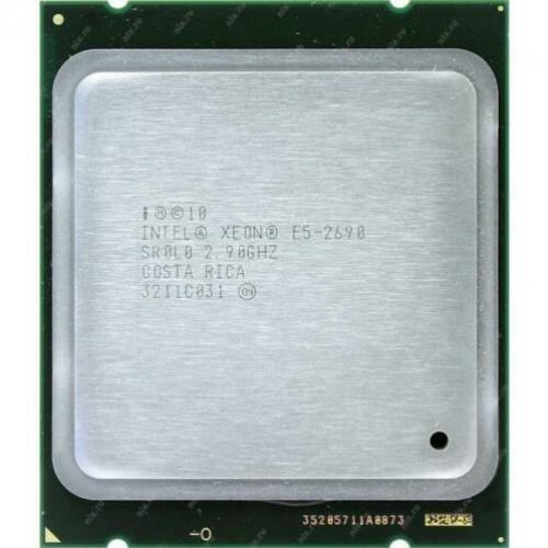 Intel Xeon E5-2690, 2.90GHz, Eight Core, 135W, 64-bit