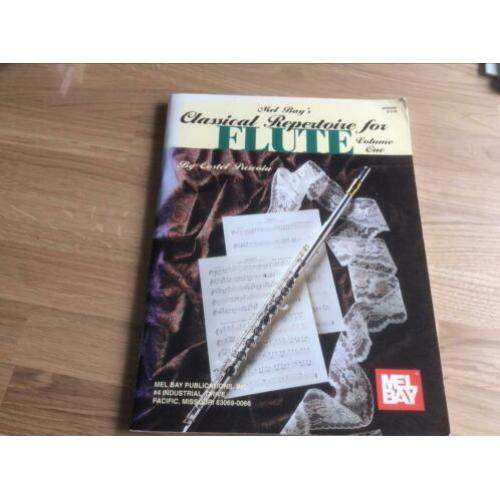 Mel bays classical repertoire for flute dwarsfluit